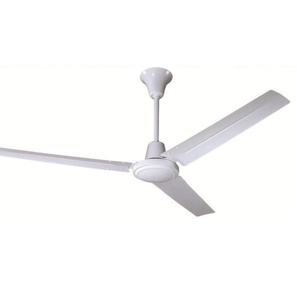 """White 56"""" Industrial Ceiling Fan : 5976"""