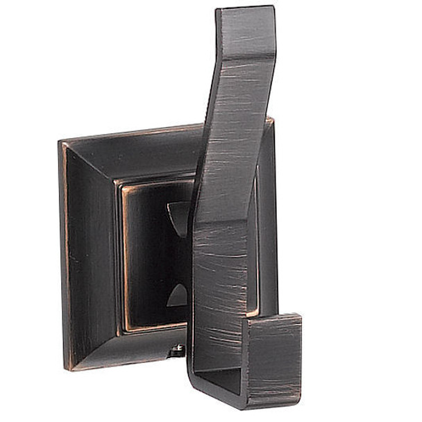 Designers Impressions 500 Series Oil Rubbed Bronze Robe Hook: BA509