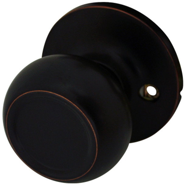 Cosmas 20 Series Oil Rubbed Bronze Dummy Door Knob: DK27-ORB