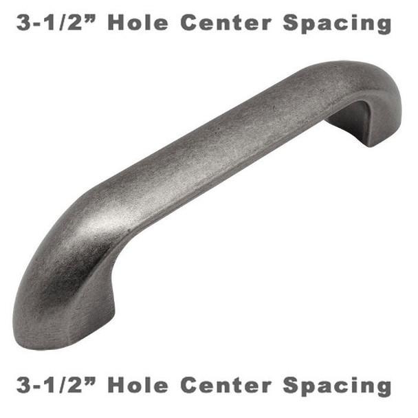 Cosmas 540-3.5WN Weathered Nickel Cabinet Pull