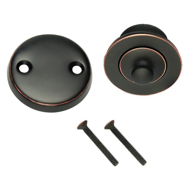 Designers Impressions 659632 Oil Rubbed Bronze Lift and Turn Drain Trim