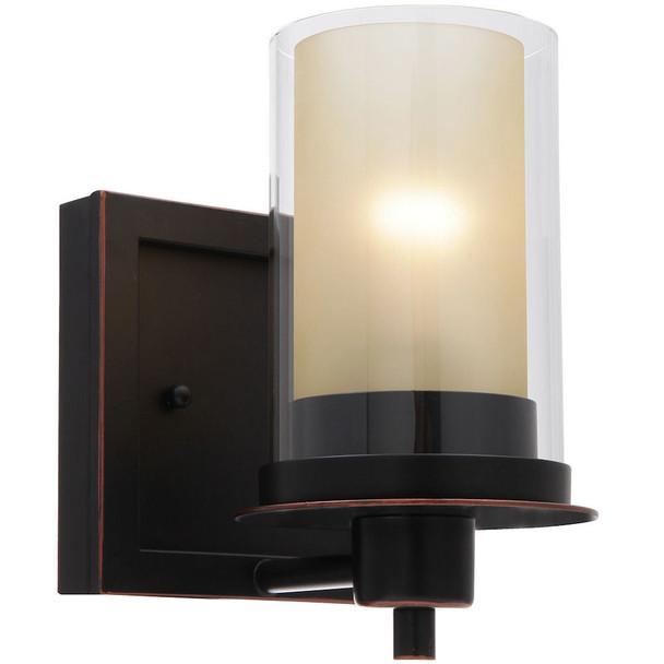 Juno Oil Rubbed Bronze 1 Light Wall Sconce / Bathroom Fixture: 73467