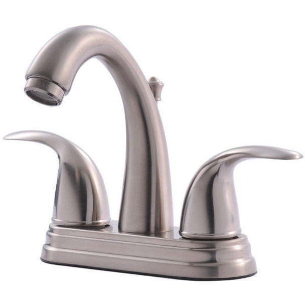 Crystal Cove 13-4897 Satin Nickel Lavatory Vanity Faucet