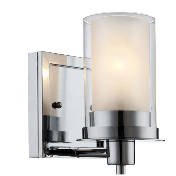 Juno Chrome 1 Light Wall Sconce / Bathroom Fixture: 73465