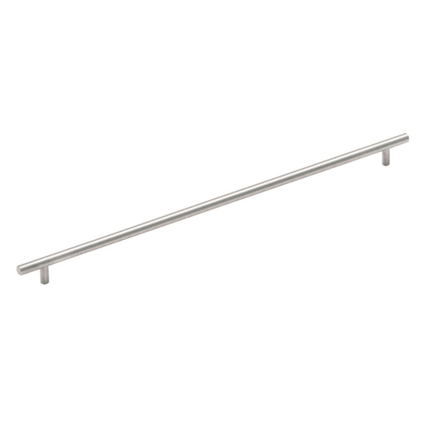 Cosmas 305-480SS Stainless Steel Cabinet Hardware Euro Style Bar Pull