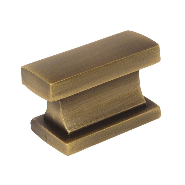 Cosmas 701BAB Brushed Antique Brass Contemporary Cabinet Knob