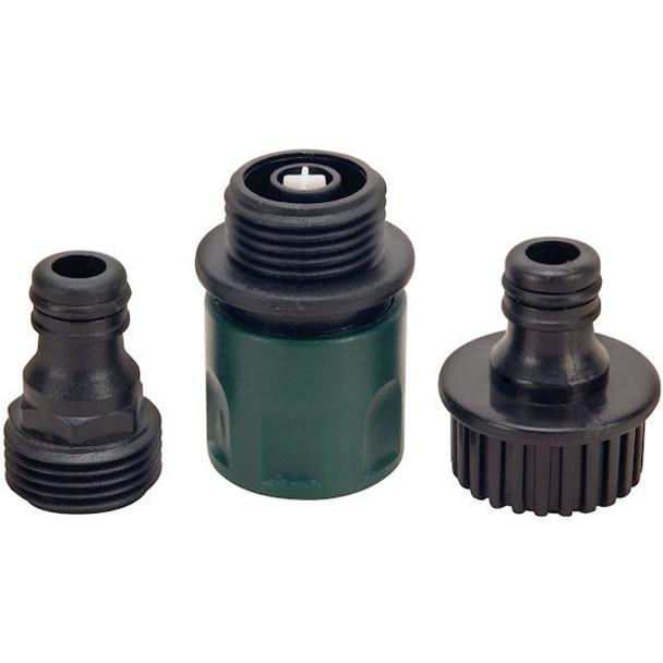 Garden Water Hose Quick Connect Set - Plastic: 486076