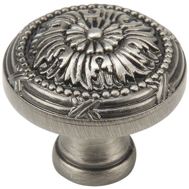Cosmas 9460AS Antique Silver Cabinet Knob