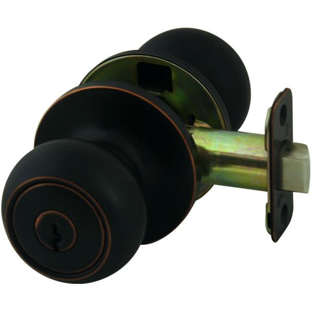 Cosmas 20 Series Oil Rubbed Bronze Entry Door Knob: DK20-ORB