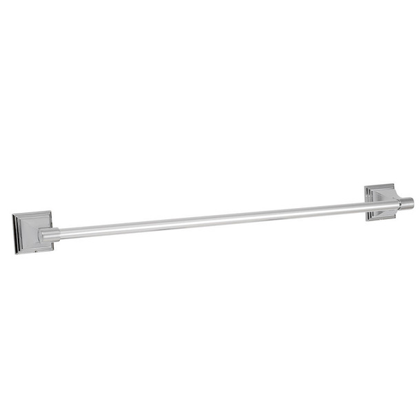"Designers Impressions 600 Series Polished Chrome 24"" Towel Bar: BA601"