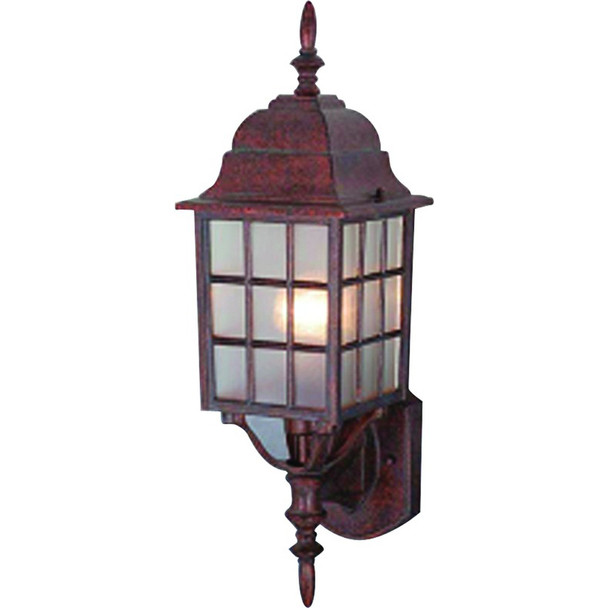 Artesian Bronze Outdoor Patio / Porch Exterior Light Fixture : 461350