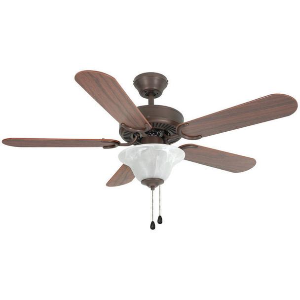"""Oil Rubbed Bronze 42"""" Ceiling Fan w/ Light Kit : 3595"""