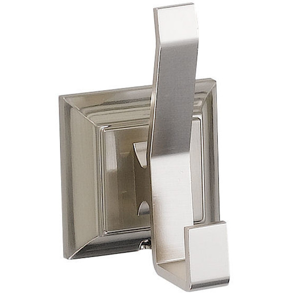 Designers Impressions 400 Series Satin Nickel Robe Hook: BA409