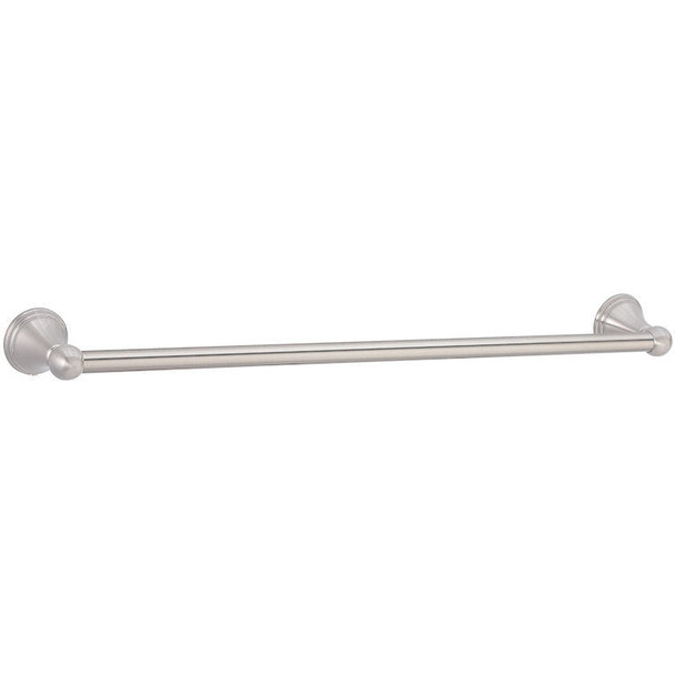 "Designers Impressions Florentine Series Satin Nickel 24"" Towel Bar: 19502"