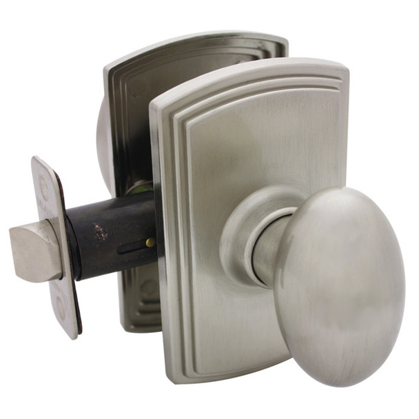 Delaney Canova Design Satin Nickel Passage Door Knob (Hall & Closet): 101T-CN-US15