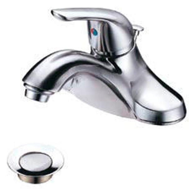 Crystal Cove 14-4931 Satin Nickel Lavatory Vanity Faucet