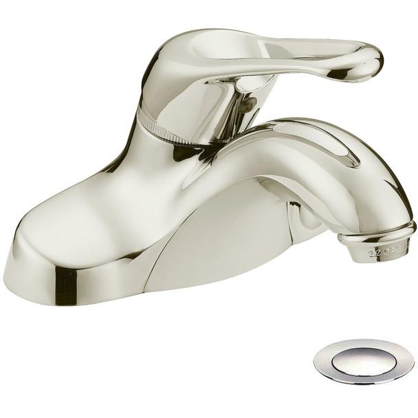 Designers Impressions 615632 Satin Nickel Single Handle Lavatory Vanity Faucet