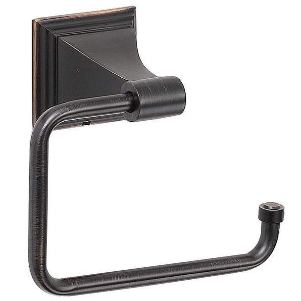 Designers Impressions 500 Series Oil Rubbed Bronze Euro Style Toilet / Tissue Paper Holder: BA506