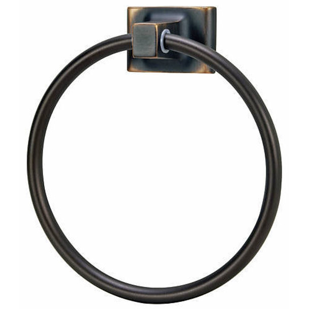 Designers Impressions Sunset Series Oil Rubbed Bronze Towel Ring: 18857