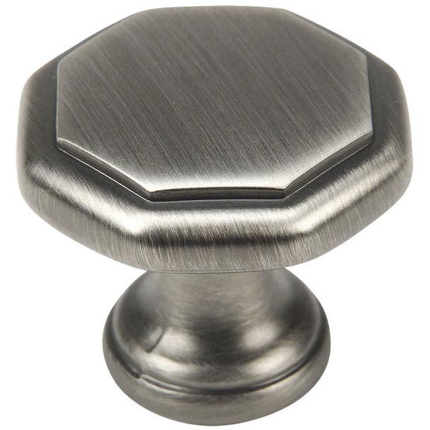 Cosmas 5181AS Antique Silver Cabinet Knob