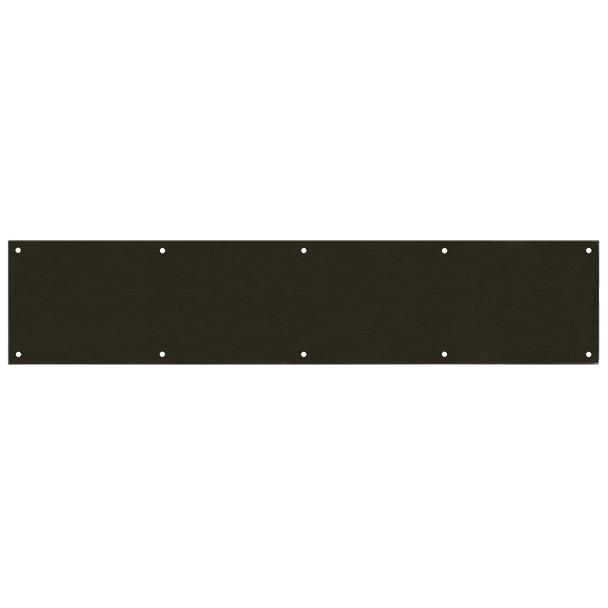 "Designers Impressions Oil Rubbed Bronze 6"" x 30"" Kick Plate: 609377"