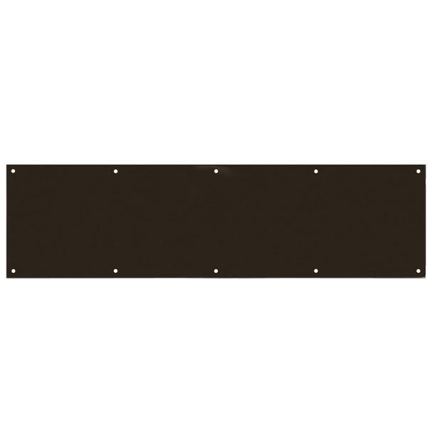 "Designers Impressions Oil Rubbed Bronze 8"" x 34"" Kick Plate: 609476"