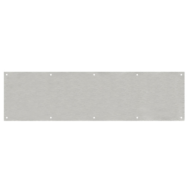 """Designers Impressions Stainless Steel 8"""" x 34"""" Kick Plate: 609483"""