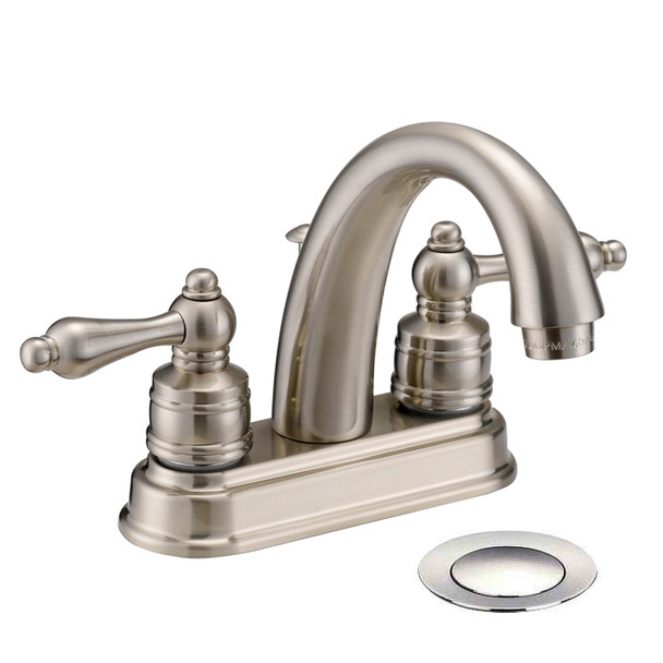 Designers Impressions 611626 Satin Nickel Lavatory Vanity Faucet