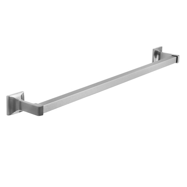 "Designers Impressions Eclipse Series Satin Nickel 24"" Towel Bar: MBA6221"