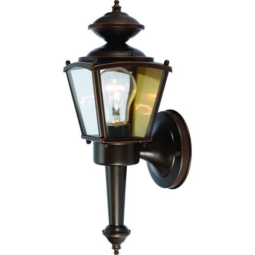 Rust Outdoor Patio / Porch Exterior Light Fixture : 54