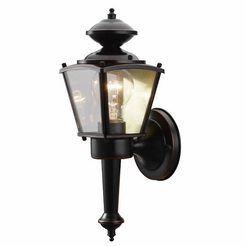 Oil Rubbed Bronze Outdoor Patio / Porch Exterior Light