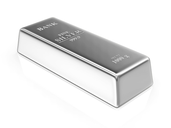 Silver 1 KG - Generic image.