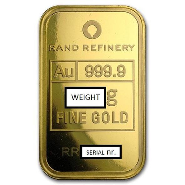 Gold Bar - 24 Carat - Generic Image.
