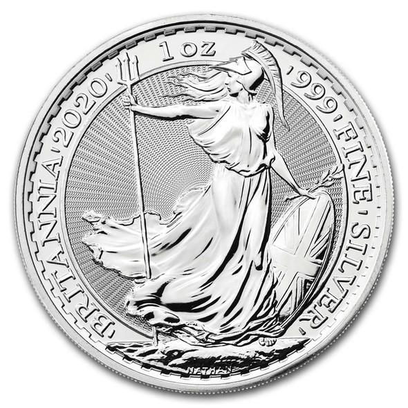 Silver Britannia 1 Oz - Fine Silver