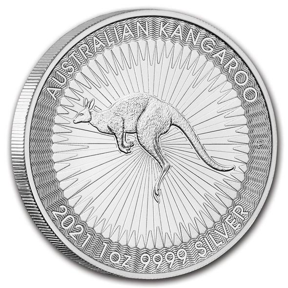Silver Kangaroo 1 Oz