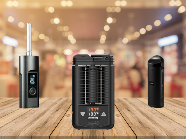 Arizer Solo II, Mighty and Atomic9 Portable Vaporizers