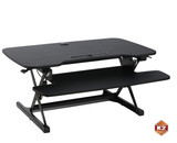 K2 Mounts Extra Wide (38.5-inch) Sit and Stand Variable Height Desk