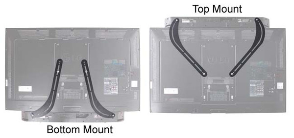 K2 Mounts K2-SBB Universal Sound Bar Bracket