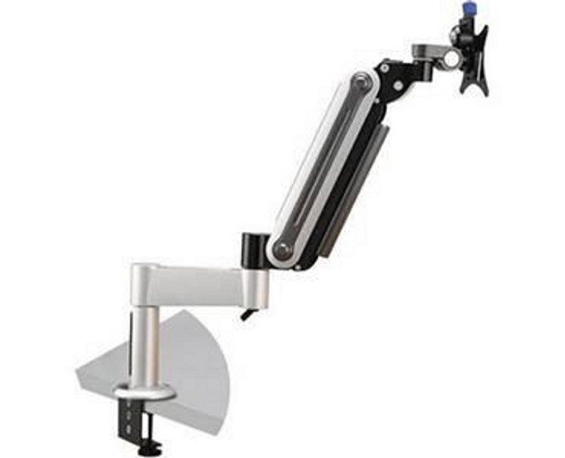 V7 Dual Gas Arm Clamp Deskmount for Small Flat Panel Display