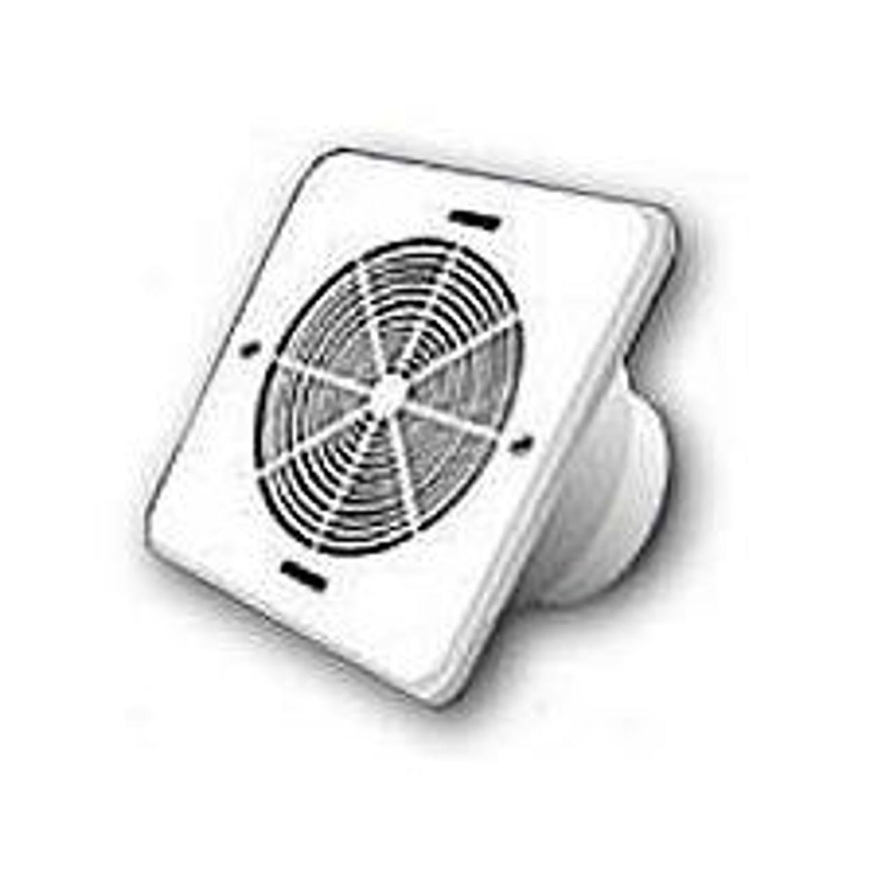 White Vinyl Bathroom Soffit Exhaust Vent Price Per Piece Item 646015 Ventmyhouse Com