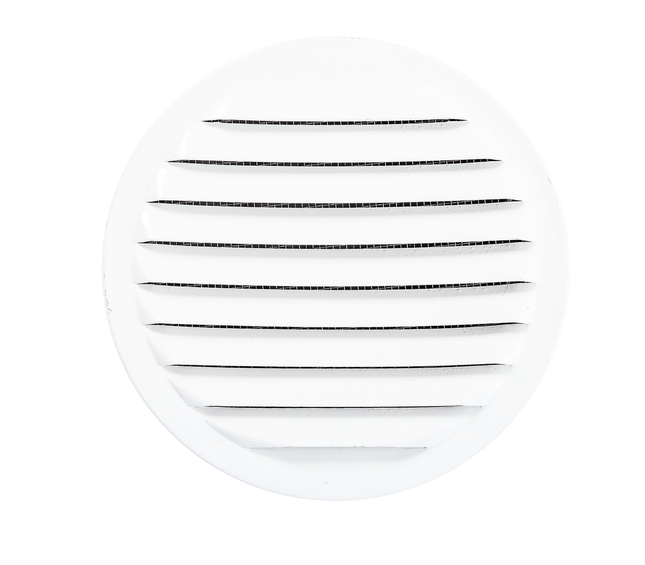 """2.5/"""" Round Open Screen Vent Package of 4 White"""