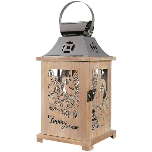 In Loving Memory Cutout Lantern
