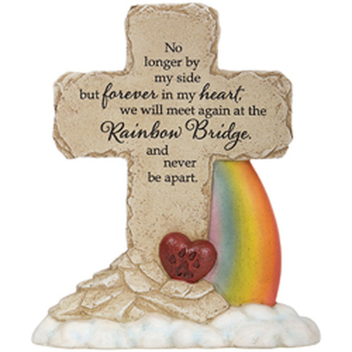 Rainbow Bridge Pedestal Cross