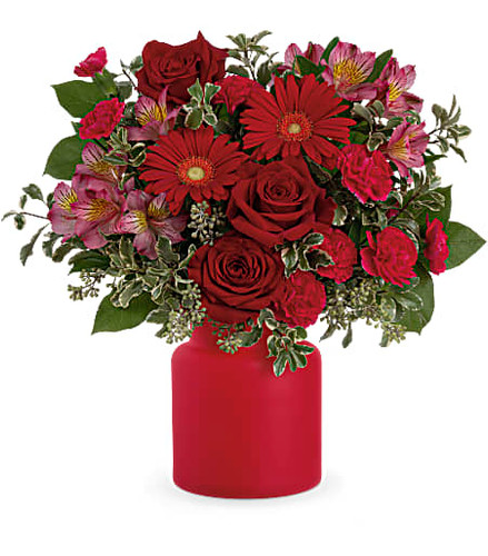 Teleflora's Enchanted Red Bouquet