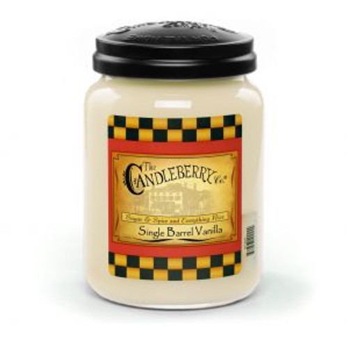 Single Barrel Vanilla Candleberry Candle