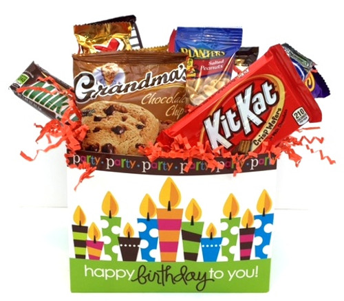 Happy Birthday Snack Basket