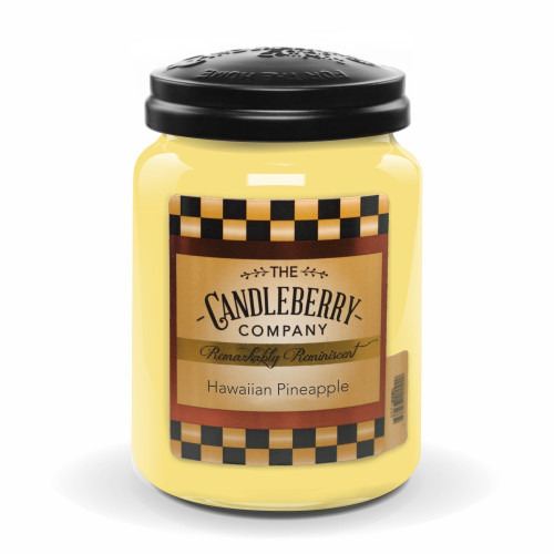Hawaiian Pineapple Candleberry Candle