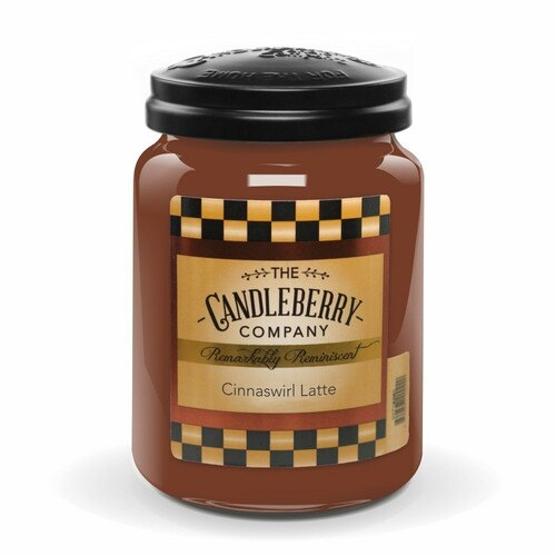 Cinnaswirl Latte Candleberry Candle
