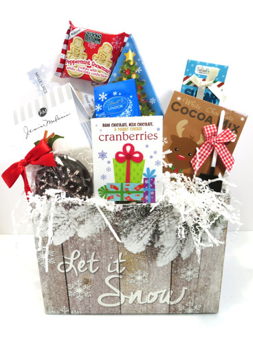 Let it Snow Gourmet Basket