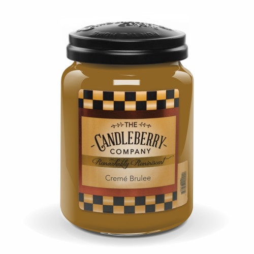 Creme Brulee Candleberry Candle
